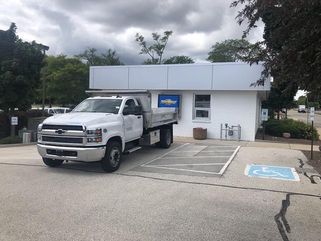 2021 Silverado 4500 Regular Cab DRW 4x2,  Monroe Truck Equipment MTE-Zee SST Series Dump Body #211048 - photo 1