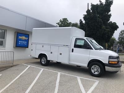 2021 Chevrolet Express 3500 4x2, Reading Aluminum CSV Service Utility Van #211111 - photo 1