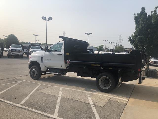 2021 Silverado 4500 Regular Cab DRW 4x4,  Monroe Truck Equipment MTE-Zee Dump Body #211121 - photo 3