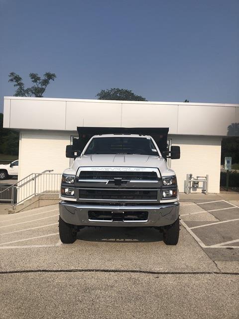 2021 Silverado 4500 Regular Cab DRW 4x4,  Monroe Truck Equipment MTE-Zee Dump Body #211121 - photo 1