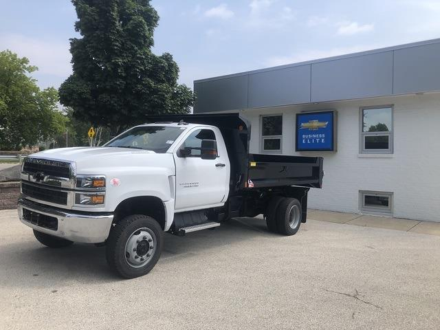 2021 Silverado 4500 Regular Cab DRW 4x4,  Monroe Truck Equipment MTE-Zee Dump Body #211174 - photo 3