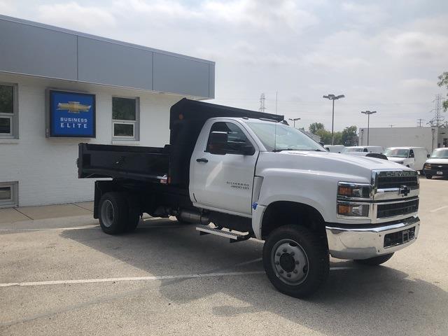 2021 Silverado 4500 Regular Cab DRW 4x4,  Monroe Truck Equipment MTE-Zee Dump Body #211174 - photo 4