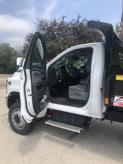 2021 Silverado 4500 Regular Cab DRW 4x4,  Monroe Truck Equipment MTE-Zee Dump Body #211174 - photo 7