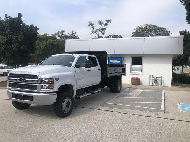 2021 Silverado 4500 Crew Cab DRW 4x4,  Monroe Truck Equipment MTE-Zee Dump Body #211175 - photo 1