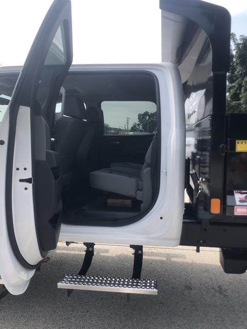 2021 Silverado 4500 Crew Cab DRW 4x4,  Monroe Truck Equipment MTE-Zee Dump Body #211175 - photo 8
