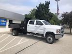 2021 Silverado 4500 Crew Cab DRW 4x4,  Monroe Truck Equipment MTE-Zee Dump Body #211175 - photo 3