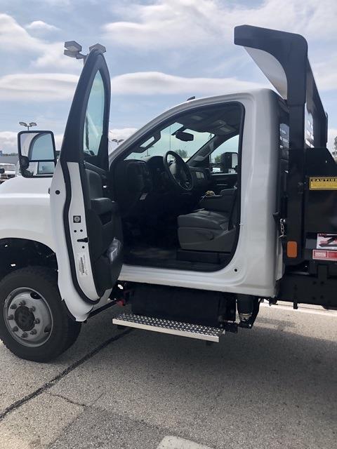 2021 Silverado 4500 Regular Cab DRW 4x4,  Monroe Truck Equipment MTE-Zee Dump Body #211207 - photo 10
