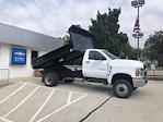 2021 Silverado 4500 Regular Cab DRW 4x4,  Monroe Truck Equipment MTE-Zee Dump Body #211207 - photo 4