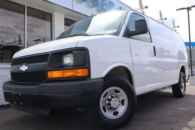 2016 Chevrolet Express 3500 RWD, Upfitted Cargo Van #8640JK - photo 1
