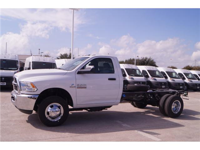 2018 Ram 3500 Regular Cab DRW,  Cab Chassis #18CF0065 - photo 1