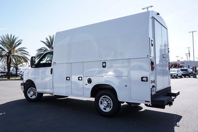 2021 Chevrolet Express 3500 4x2, Knapheide Service Utility Van #M0220 - photo 1