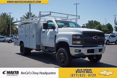 2021 Chevrolet Silverado 4500 Regular Cab DRW 4x4, Royal Truck Body Combo Body #M0244 - photo 1