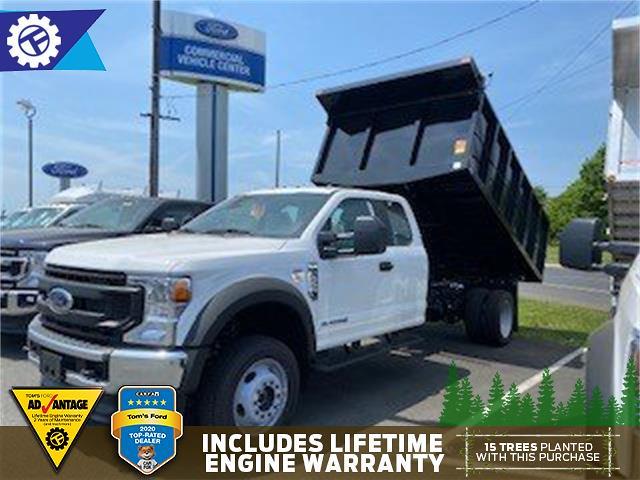 2021 Ford F-550 Super Cab DRW 4x4, SH Truck Bodies Landscape Dump #TV1237 - photo 1