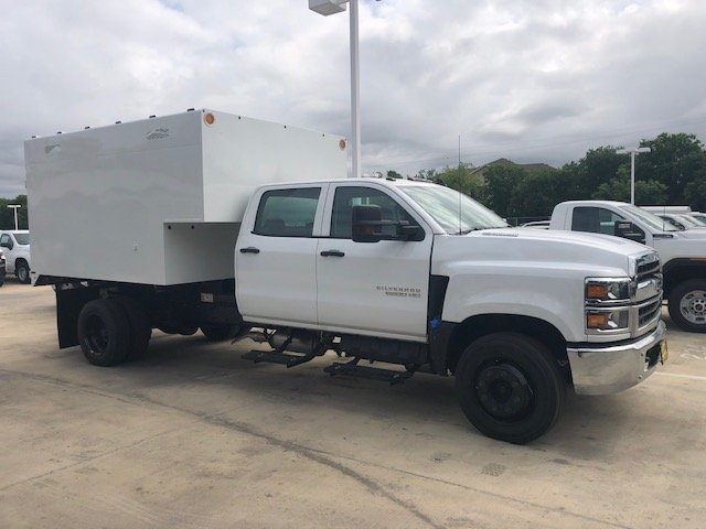 2019 Silverado 5500 Crew Cab DRW 4x2, Knapheide Standard Forestry Chipper Body #CC19905 - photo 1