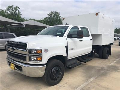 2019 Silverado 5500 Crew Cab DRW 4x2, Knapheide Standard Forestry Chipper Body #CC19905 - photo 4