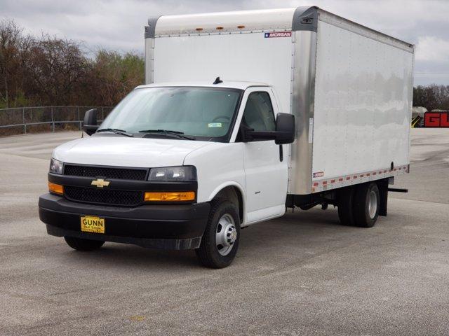 2020 Chevrolet Express 3500 4x2, Morgan Parcel Aluminum Cutaway Van #CC21060 - photo 4