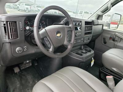 2020 Chevrolet Express 3500 4x2, Morgan Parcel Aluminum Cutaway Van #CC21060 - photo 10