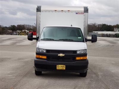 2020 Chevrolet Express 3500 4x2, Morgan Parcel Aluminum Cutaway Van #CC21060 - photo 3