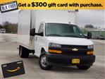 2020 Chevrolet Express 3500 4x2, Morgan Parcel Aluminum Cutaway Van #CC21060 - photo 1