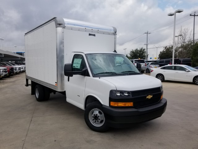 2020 Chevrolet Express 3500 4x2, Knapheide KVA Dry Freight #CC21130 - photo 1