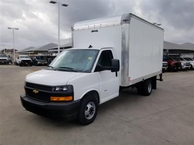 2020 Chevrolet Express 3500 4x2, Knapheide KVA Dry Freight #CC21130 - photo 4