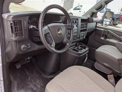 2020 Chevrolet Express 3500 4x2, Morgan Parcel Aluminum Cutaway Van #CC21273 - photo 11