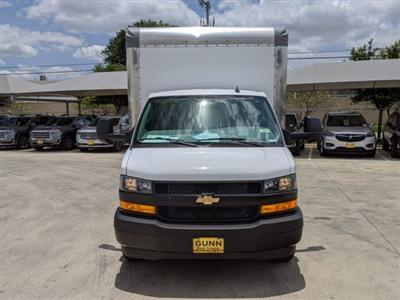 2020 Chevrolet Express 3500 4x2, Morgan Parcel Aluminum Cutaway Van #CC21273 - photo 3