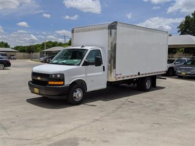 2020 Chevrolet Express 3500 4x2, Morgan Parcel Aluminum Cutaway Van #CC21273 - photo 4
