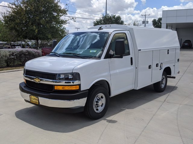 2020 Chevrolet Express 3500 4x2, Knapheide KUV Service Utility Van #CC21365 - photo 1