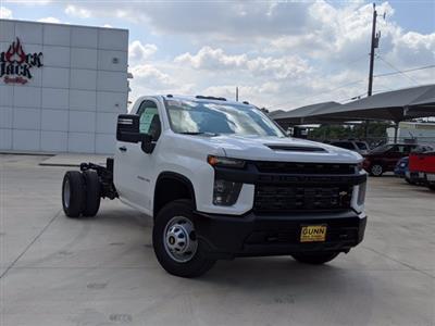 2020 Chevrolet Silverado 3500 Regular Cab DRW 4x4, Cab Chassis #CC21429 - photo 1