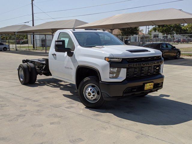 2020 Chevrolet Silverado 3500 Regular Cab DRW 4x4, Cab Chassis #CC21455 - photo 1
