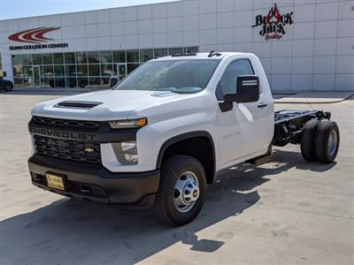 2020 Chevrolet Silverado 3500 Regular Cab DRW 4x4, Cab Chassis #CC21455 - photo 4