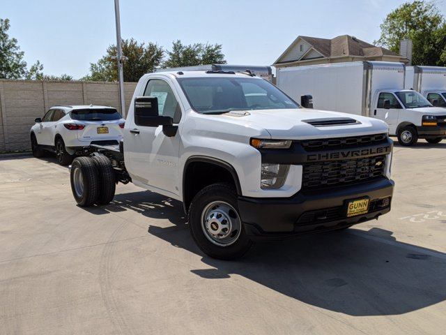 2020 Chevrolet Silverado 3500 Regular Cab DRW 4x4, Cab Chassis #CC21456 - photo 1