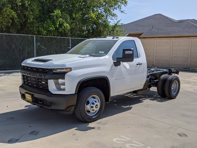 2020 Chevrolet Silverado 3500 Regular Cab DRW 4x4, Cab Chassis #CC21456 - photo 4