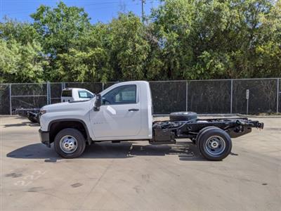 2020 Chevrolet Silverado 3500 Regular Cab DRW 4x4, Cab Chassis #CC21456 - photo 5