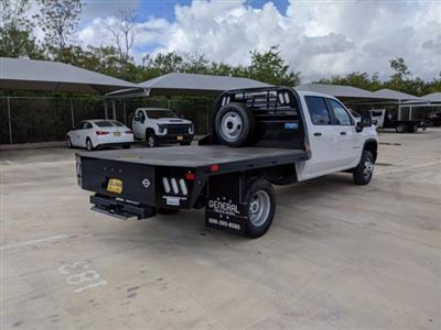 2020 Chevrolet Silverado 3500 Crew Cab DRW 4x4, CM Truck Beds RD Model Platform Body #CC21474 - photo 2