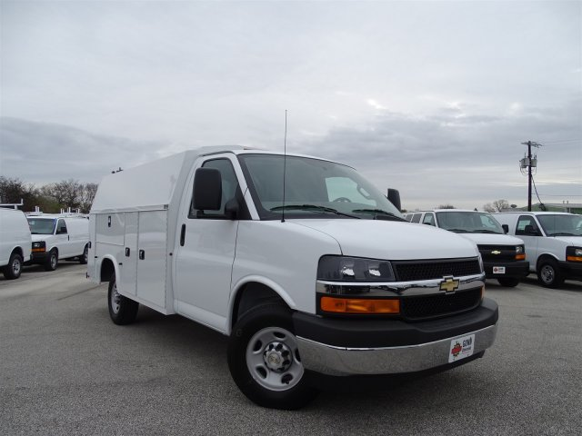 2017 Express 3500, Knapheide Service Utility Van #CC70096 - photo 3