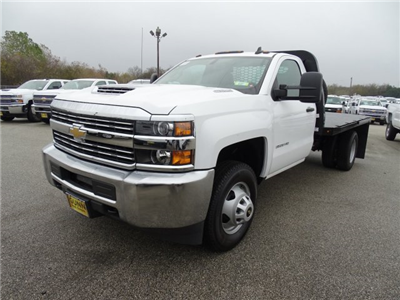 2017 Silverado 3500 Regular Cab DRW, Knapheide PGNB Gooseneck Platform Body #CC70993 - photo 1