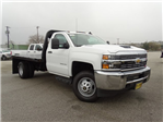 2017 Silverado 3500 Regular Cab DRW, Knapheide PGNB Gooseneck Platform Body #CC70993 - photo 3