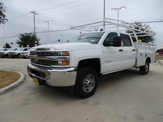 2017 Silverado 2500 Crew Cab, Harbor TradeMaster Service Body #CC71000 - photo 1