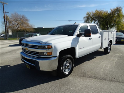 2017 Silverado 2500 Crew Cab Service Body #CC71006 - photo 1