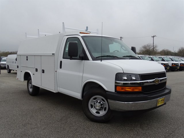 2017 Express 3500, Knapheide Service Utility Van #CC71015 - photo 3
