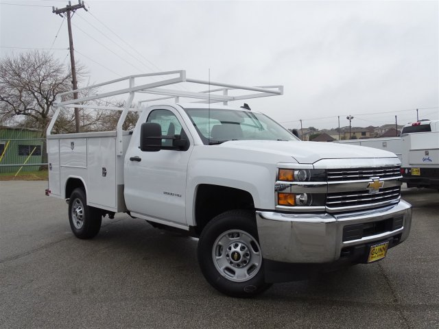 2017 Silverado 2500 Regular Cab, Harbor Service Body #CC71022 - photo 3