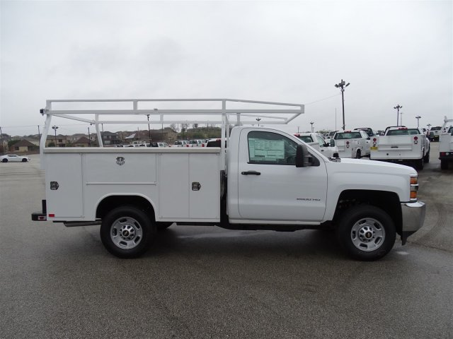 2017 Silverado 2500 Regular Cab, Harbor Service Body #CC71022 - photo 4