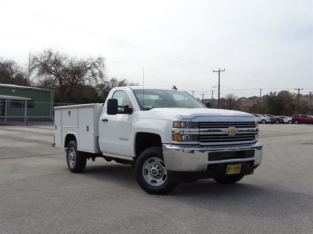 2017 Silverado 2500 Regular Cab, Harbor Service Body #CC71026 - photo 3