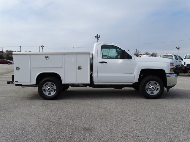 2017 Silverado 2500 Regular Cab, Harbor Service Body #CC71026 - photo 4