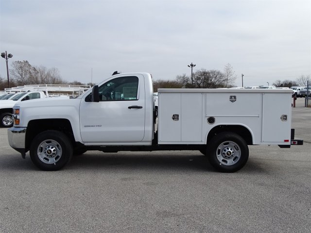 2017 Silverado 2500 Regular Cab, Harbor Service Body #CC71026 - photo 7