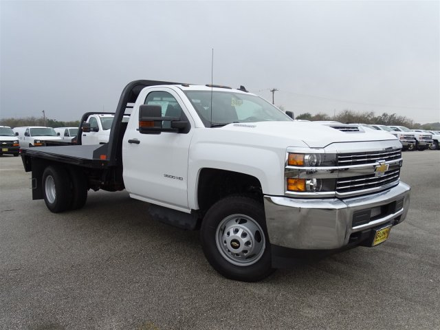 2018 Silverado 3500 Regular Cab DRW 4x4,  CM Truck Beds Platform Body #CC81157 - photo 3