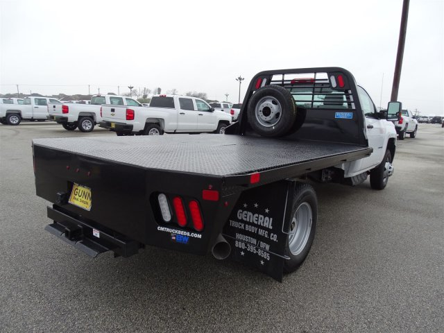 2018 Silverado 3500 Regular Cab DRW 4x4,  CM Truck Beds Platform Body #CC81157 - photo 5
