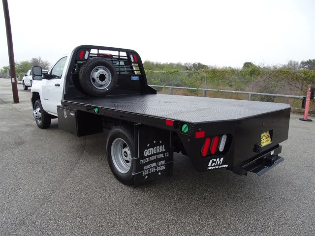 2018 Silverado 3500 Regular Cab DRW 4x4,  CM Truck Beds Platform Body #CC81157 - photo 2